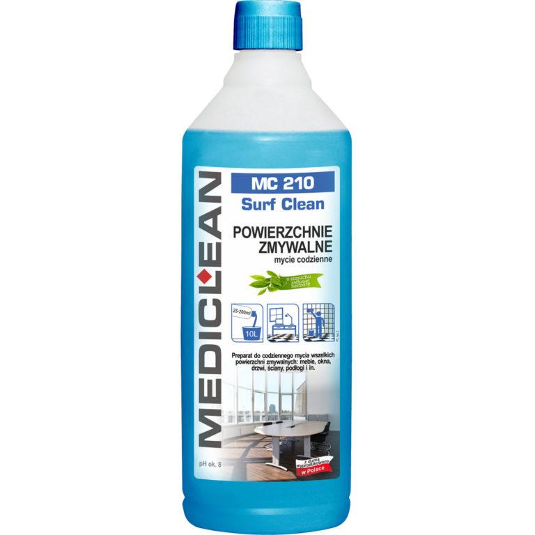 MC 210 Surf Clean –  Uniwersalny płyn do powierzchni zmywalnych