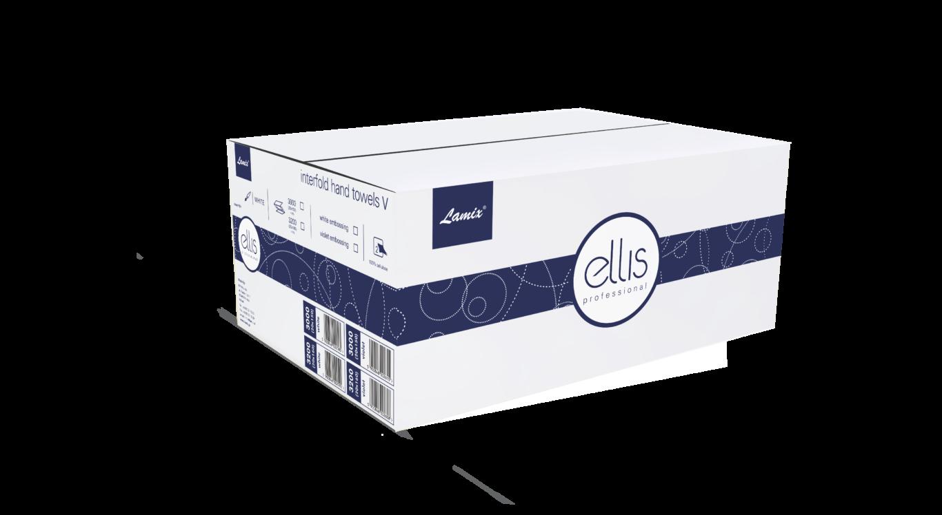 Ręczniki składane ZZ Lamix Ellis Professional Simple celuloza 2w
