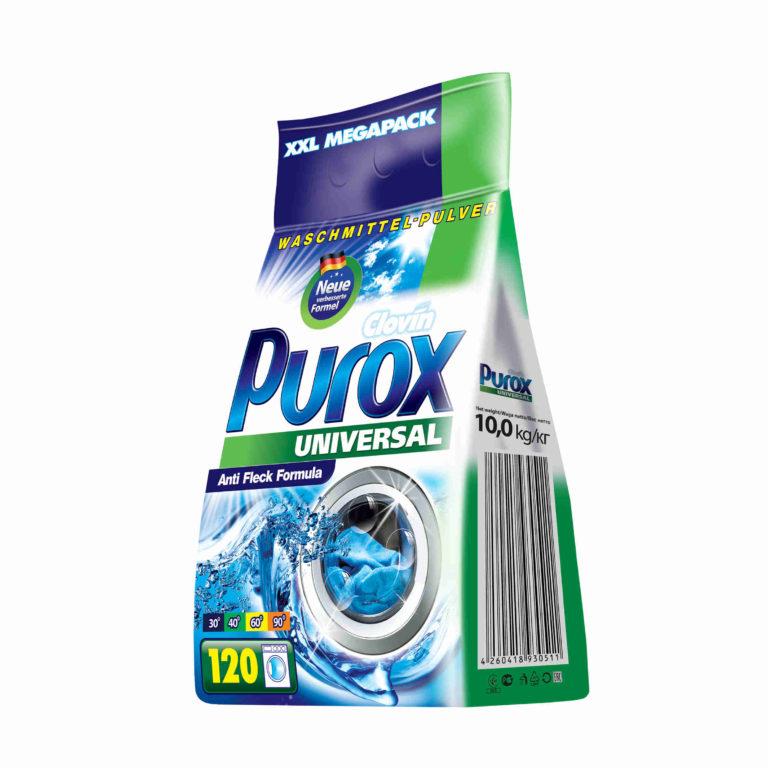 Proszek do prania uniwersalny CLOVIN PUROX