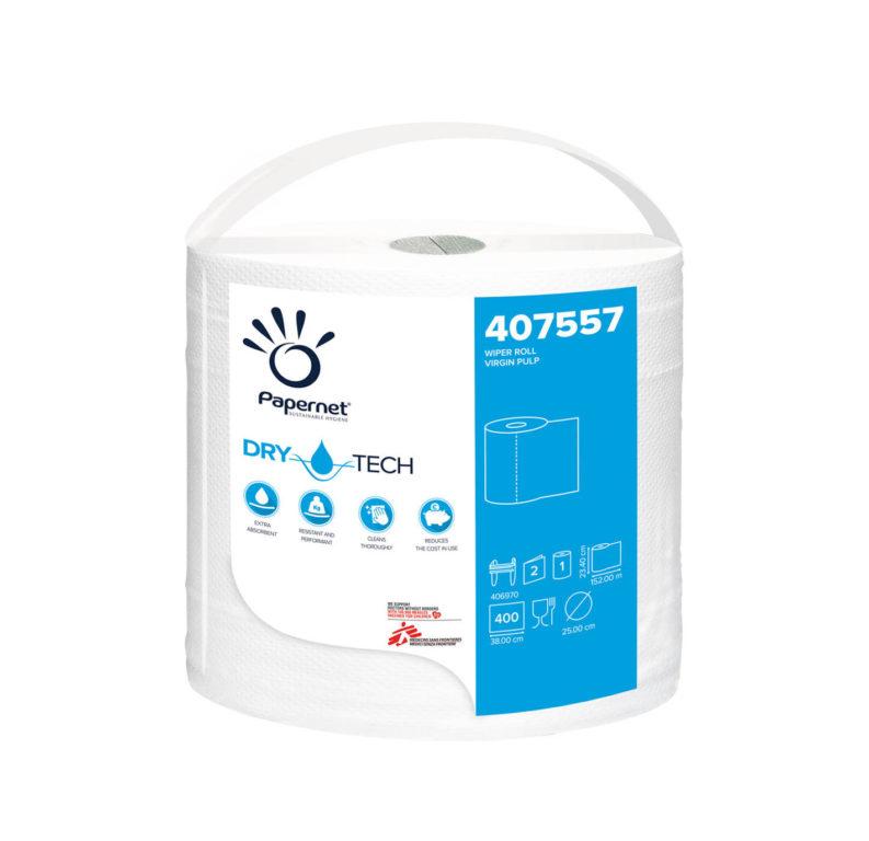 Czyściwo przemysłowe Papernet 407557 celuloza 2w