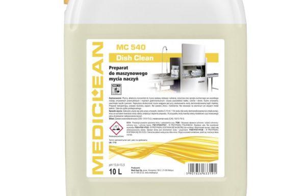 MC 540 Dish Clean – mycie maszynowe w zmywarkach