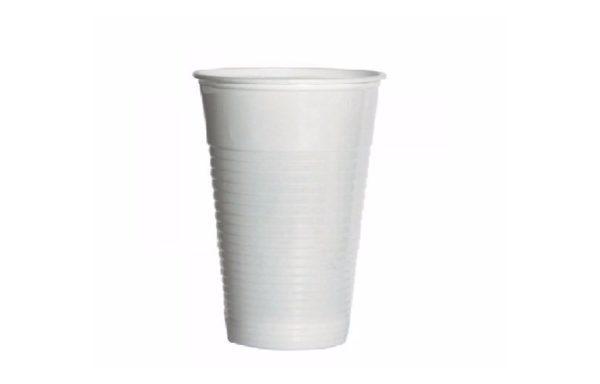 Biały Kubek plastikowy 200 ml