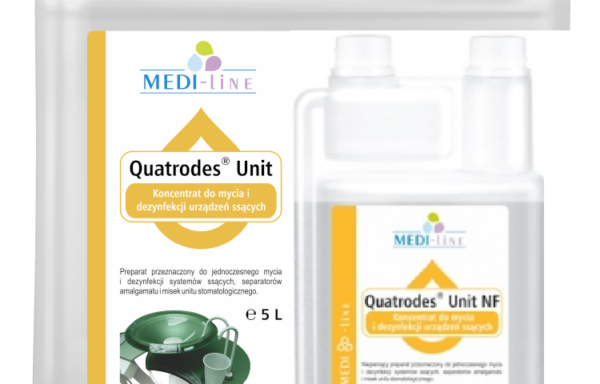 Quatrodes Unit NF – dezynfekcja i mycie urządzeń ssących